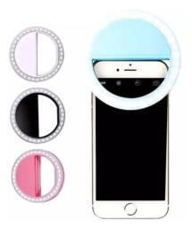 Selfie Ring Light Clipe Anel Led Flash Celular Universal
