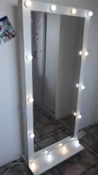 Espelho Camarin Rodinha 85x180