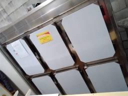 Geladeira 6 portas semi novo