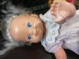 Bebê engatinhando estrela antiga