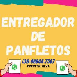 ENTREGO PANFLETOS NO BARREIRO