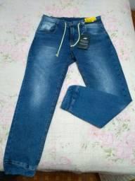 Título do anúncio: Calça jeans jogger, vários tamanhos