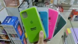 Case de silicone para celular