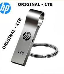 Pendrive 1TB HP + Adaptador Para Celular (leia a descrição)