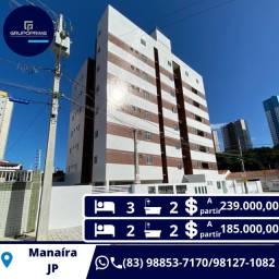 Apt. com 03 quartos em Manaíra Privilegiado !!
