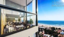 Título do anúncio: Apartamento 3 suítes na Praia Grande, vaga dupla, sala de jantar e estar integrados, churr