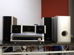 Home theater DVD 5 discos PIONEER