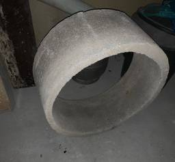 Anel de concreto para posso e fossa