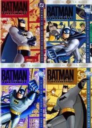 Batman / A Série Animada Completa + As Novas Aventuras do Batman / DVD