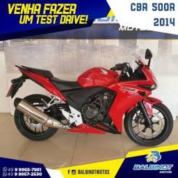 CBR 500R 2014 Vermelha