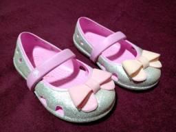 Sapatilha Kids Crocs Glitter Rosa