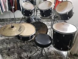 Bateria completa Wolf Drums usada