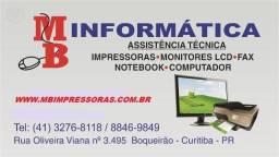 Assistência de impressoras HP (41)3276-8118