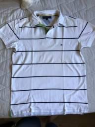 121867f553 Camisa Polo listrada Tommy Hilfiger