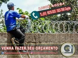 Concertina dupla clipada 45cm diamameto 17 reais o metro