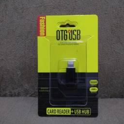 Adaptadores otg para pen drive e para carregador
