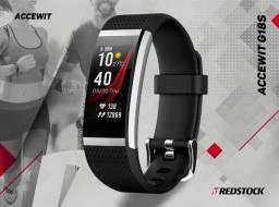 Smartband Accewit G18S Monitora Batimentos Cardíacos - Preto