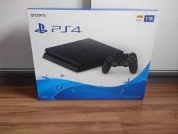 Playstation 4 Slim 1TB De HD - Novo Lacrado Com Garantia