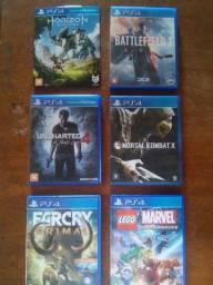 Jogos PS4 valores e contato na descrição