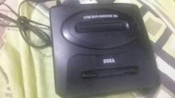 Mega drive com 10 Jogos na memória, usado comprar usado  Novo Gama