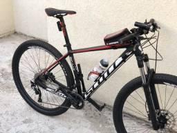 Bicicleta Scott scale 990 TOP - grupo deore e slx - usada 4x