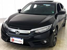 Honda Civic Sedan TOURING 1.5 Turbo 16V Aut.4p - Preto - 2017 - 2017