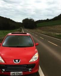 Vendo Peugeot 307 Vermelho Completo Ano 2009 C/ Teto solar e Multimidia - 2009