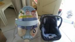 Cadeirinha e bebê conforto super conservados . lagarto- colônia treze