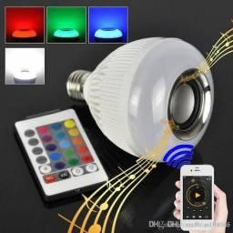 Lampada Bluetooth c/ controle remoto