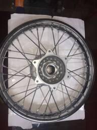 Roda traseiro Completa NX150 Bros Honda Fabrek