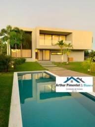 Luxuosa Casa Nova 4 Suítes Busca Vida Finíssimo Acabamento