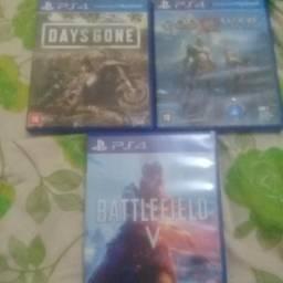 Vendo 3 jogos de ps4 barato