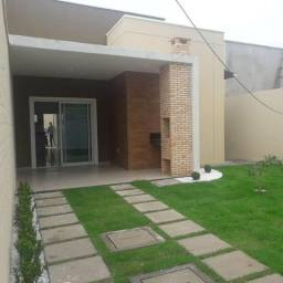 Casa plana em loteamento semi fechado 3 suítes 3 vagas