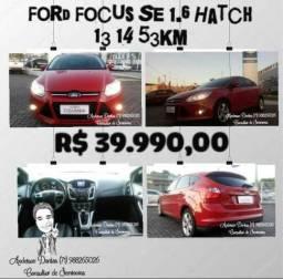 Ford Focus Se 1.6 Hacth 13/14 53 km. - 2014