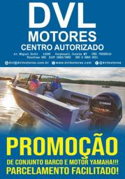 Barco 5m+ Motor Yamaha 15 HP+ Carreta 5 anos de garantia!!!