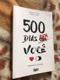 Livro 500 dias sem você