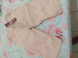 Calça jeans pra crianças  e bermudas
