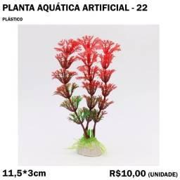 Planta de Decoração de Aquário Artificial - Modelo 22
