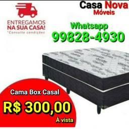 Vendo Cama Box Casal R$300,00 à vista