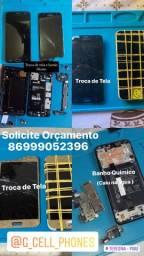 Assistência técnica Samsung,Motorola,LG,Xiaomi ,IPhone
