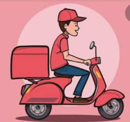 Precisa-se motoboy - Meio expediente - Recreio