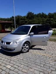 Renault Scenic 2008 automático e couro (7 lugares)
