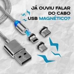 Cabo Magnético (USB, Tipo C e iPhone) ?