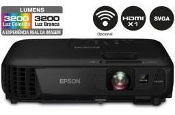 Projetor Epson S31 3200 Lumens Hdmi Wifi 300 Pol Semi Novo Garantia Parcelo NF