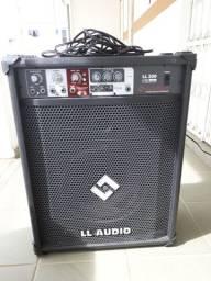 Caixa de som 50 watts Preta/ Ji Paraná