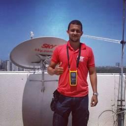 Técnico antenista SkyTv OiTv ClaroTv e canais abertos