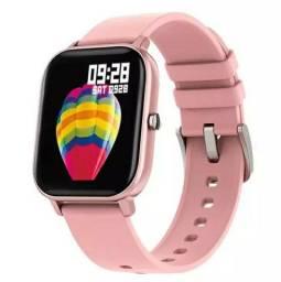 Relógio Smartwatch Clomi P8 (Rosa) -Novo