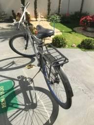 Bicicleta monark preta
