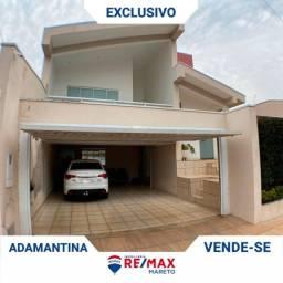 Título do anúncio: Casa de alto padrão à venda no centro de Adamantina.