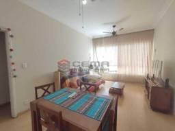 Apartamento 3 quartos com vaga na Paissandu - Flamengo